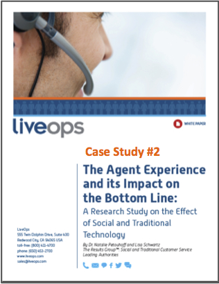 Agents Technology and the Bottomline Case study #2