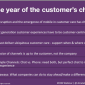 2015 is the Year of the Customers Choice