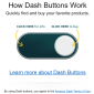 AMAZON: Virtual 'Dash' Buttons for One-click Buying From the Homepage